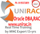 Oracle DBA Training Real Time by MNC Expert 12+yrs