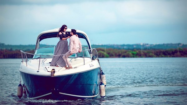 Yacht for rent in goa