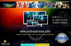 Online Live Tv Streaming Bangalore