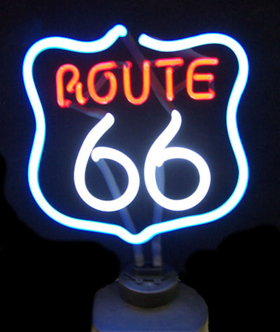 Route 66 Sculpture		SKU: NEO074-4RT66X