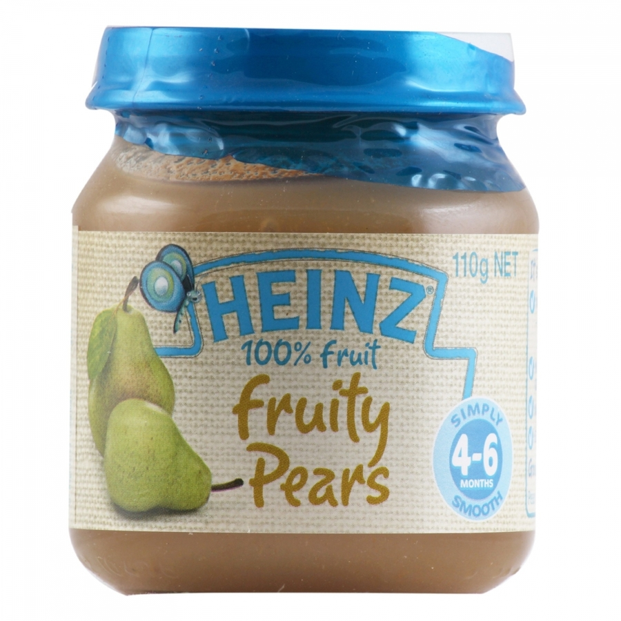 Heinz 100% Fruit Fruity Pears 110gm