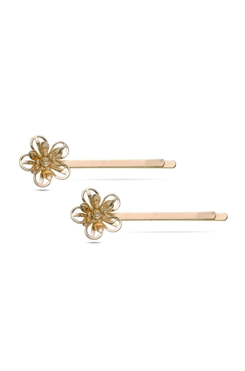 Floral Frame Hair Pins