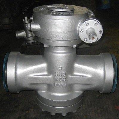 Inverted Pressure Balance Lubricated Plug Valves