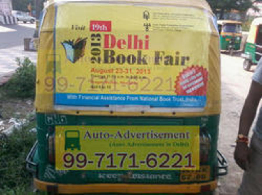 Vinyle Sticker Auto Advertising