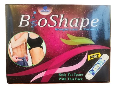 Bioshape Weight Loss Formula With Body Fat Tester