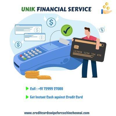 Can I get Spot cash on Credit Card ?