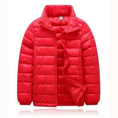 Red Down Puffy Jacket