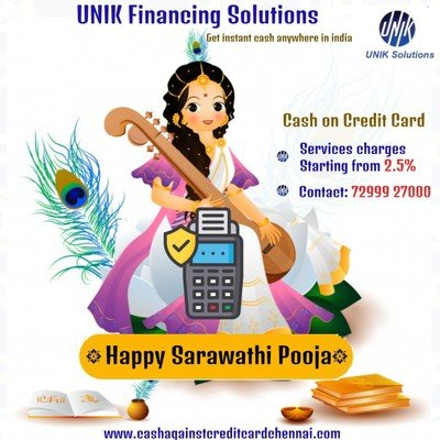 UNIK's Happy Saraswathi Pooja For You & Your Family