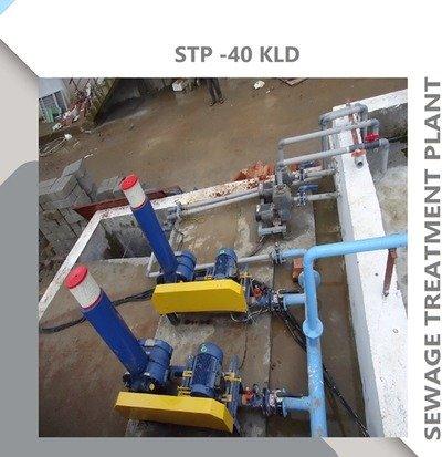 SEWAGE TREATMENT PLANT-40KLD
