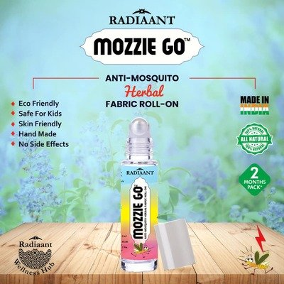fabric roll-on mosquito repellent ● pure herbal preparation