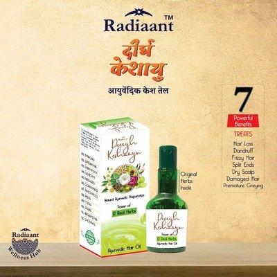 Deergh Keshayu Hair oil _ The powerful blend of the Ayurvedi