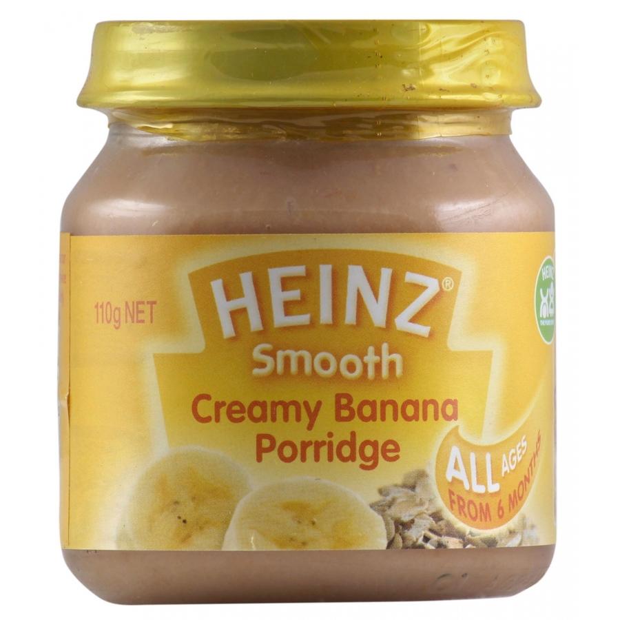 Heinz Smooth Creamy Banana Porridge110gm