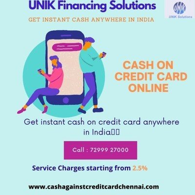 How does Credit Card swipe for Cash in Chennai support Cash?