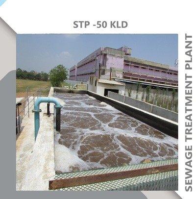 SEWAGE TREATMENT PLANT-50KLD