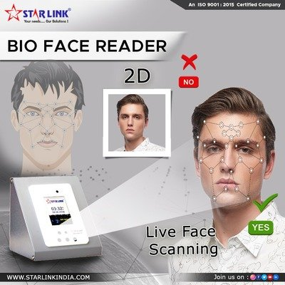 Face Recognition Biometric Device by StarLink