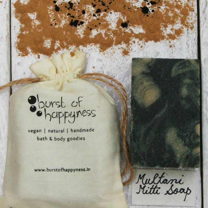 Multani Mitti Handmade Natural Soap