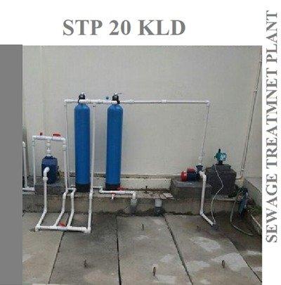 SEWAGE TREATMENT PLANT-20 KLD