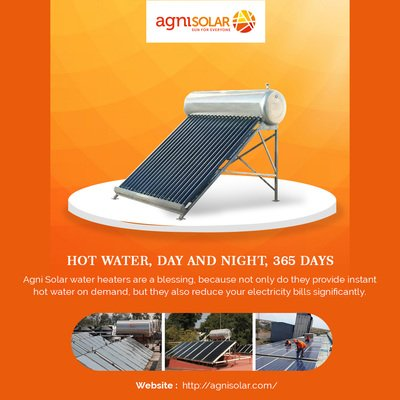 Solar Water Heating Systems - Solar Water Heaters - Agni Sol