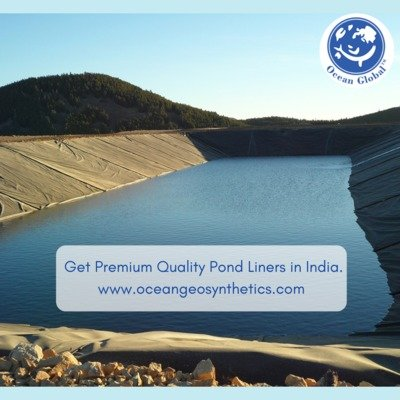 Get Premium Quality Pond Liners in India.