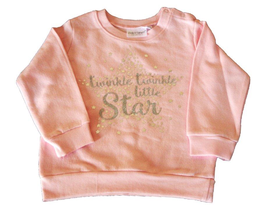 Baby Town Pink Sweat Shirt 18-24 months