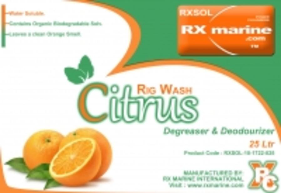 Rig wash citrus