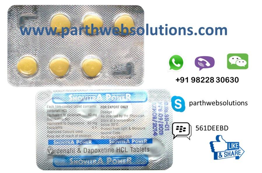 Snovitra Power (Vardenafil & Dapoxetine)