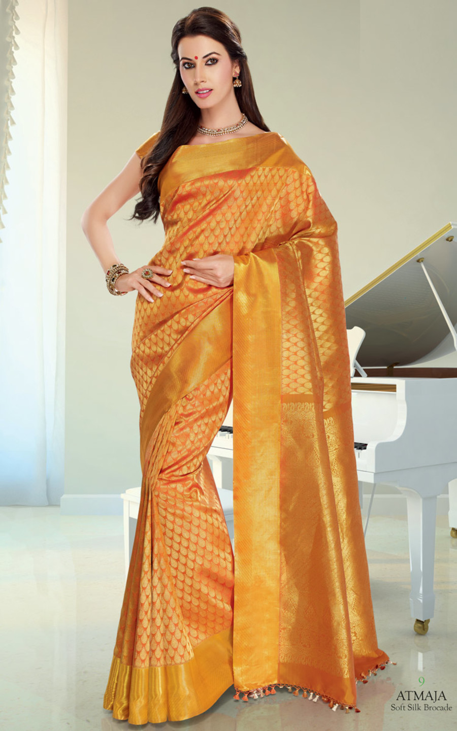 Silk Saree SDA09Product InformationCustomer Reviews
