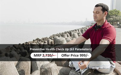Preventive Health Check Up (63 Parameters)