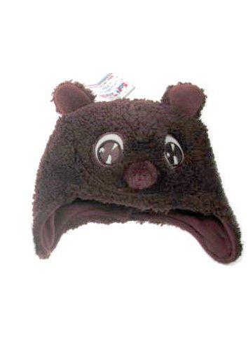 Cute Brown Animal Cap