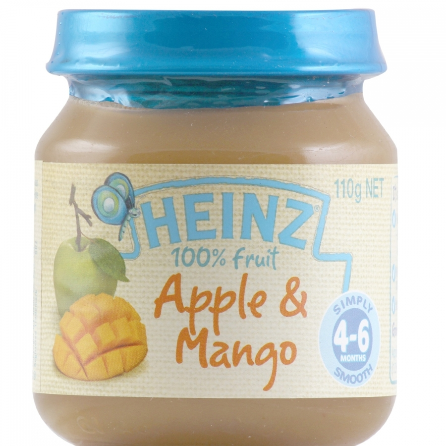 Heinz 100% Fruit Apple And Mango 110gm