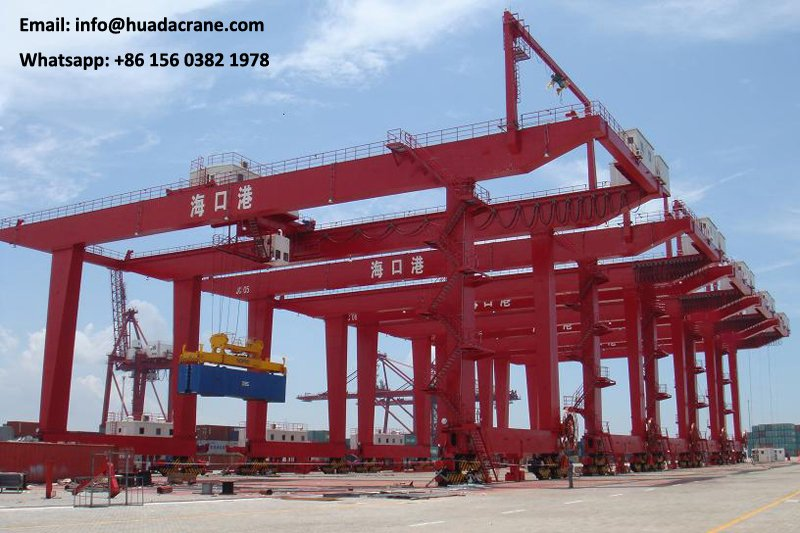 high quality 250ton door type shipbuilding gantry crane