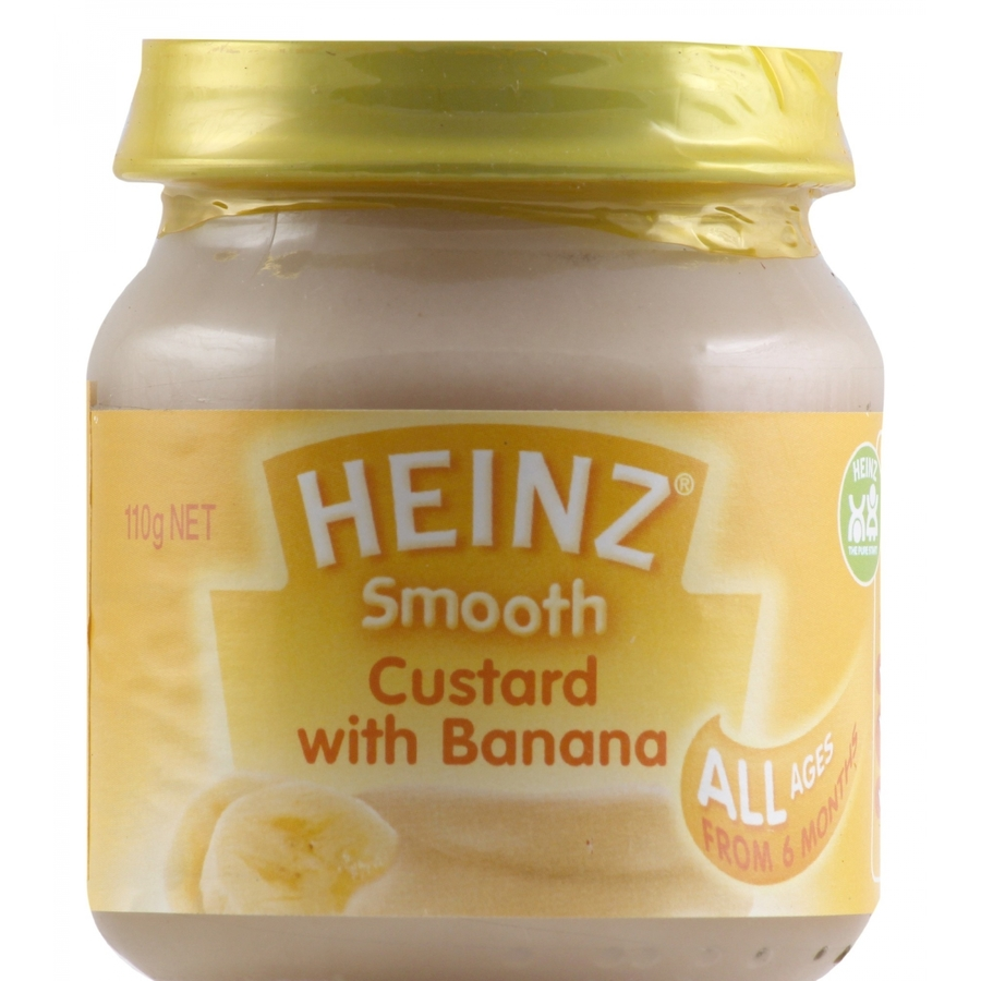 Heinz Smooth Custard with Banana 110gm