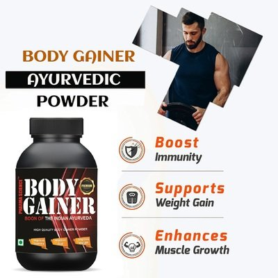 Ayurvedic Supplement for Muscle Gain Powder