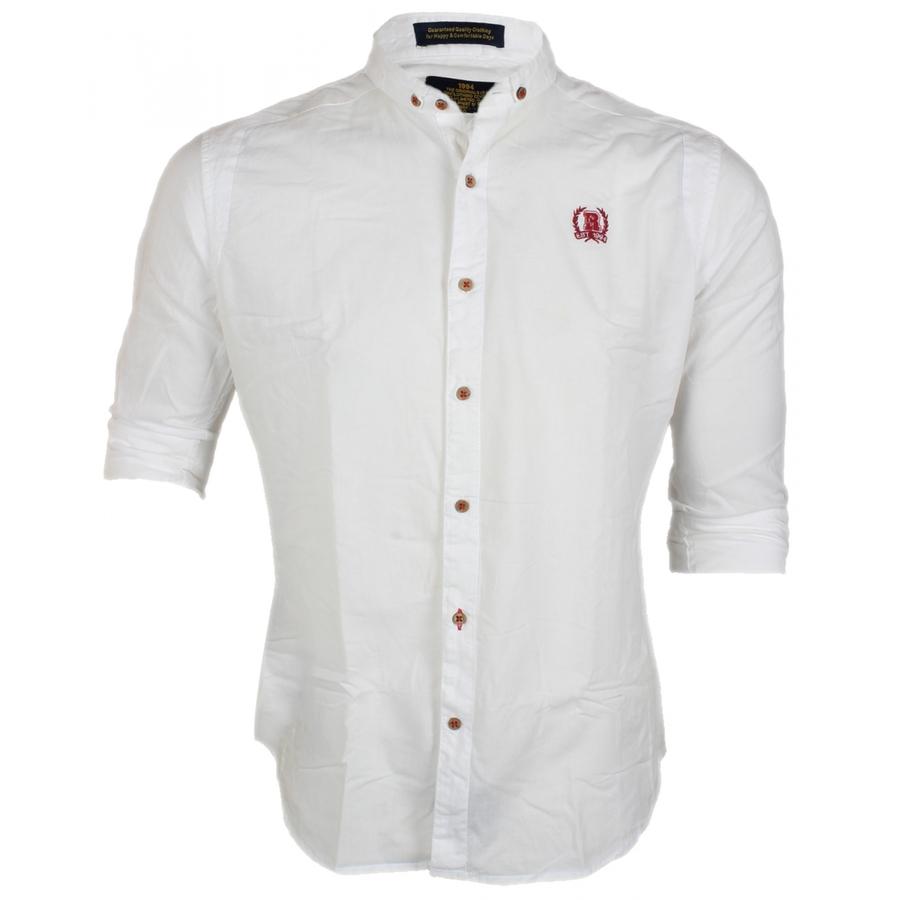 R & C White Casual Shirt