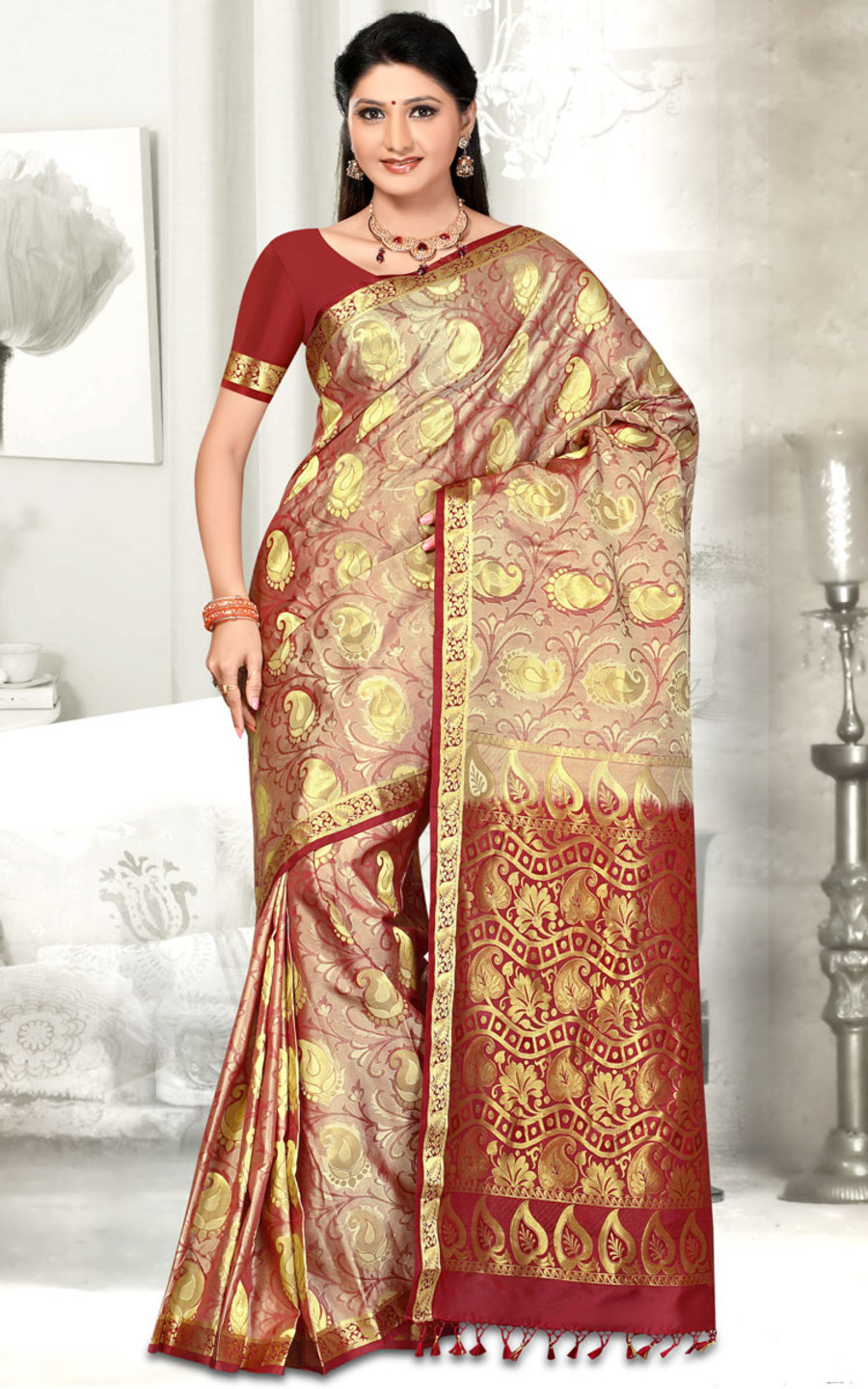 Silk Saree PK93Product InformationCustomer Reviews