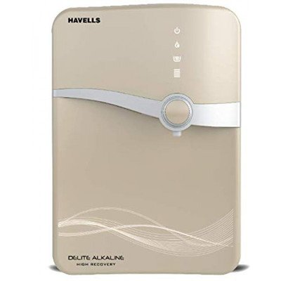 Havells Delite Alkaline RO, UV & SS Tank with UV LED Water P