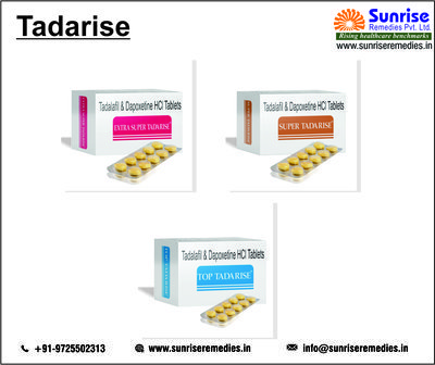 Tadalafil and Dapoxetine Products