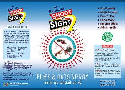 Radiaant Shoot At Sight Ant Spray