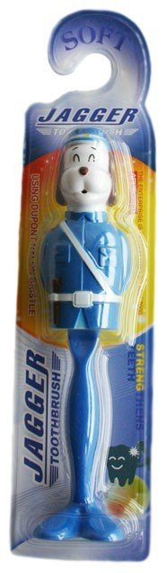Blue Toothbrush with Cover