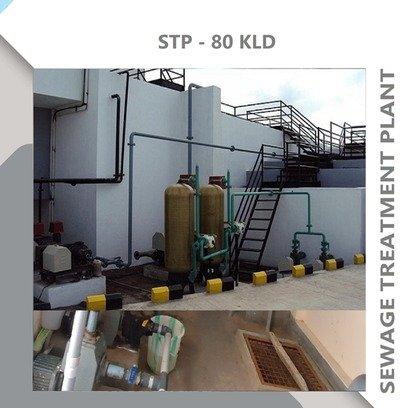 SEWAGE TREATMENT PLANT-80KLD