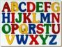 English Alphabet Tray-Uppercase (ABC)