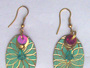 Brass Earrings (Antique Finished)