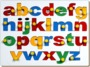 English Alphabet Tray-Lowercase (abc) with Knob